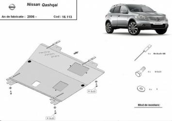 Scut auto metalic pentru motor MTR NISSAN QASHQAI Scuturi auto