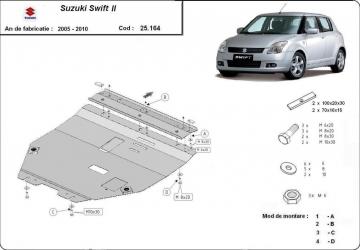 Scut auto metalic pentru motor MTR SUZUKI SWIFT II Scuturi auto