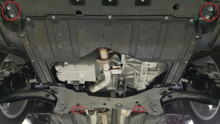 Scut auto metalic pentru motor MTR SUZUKI VITARA Scuturi auto