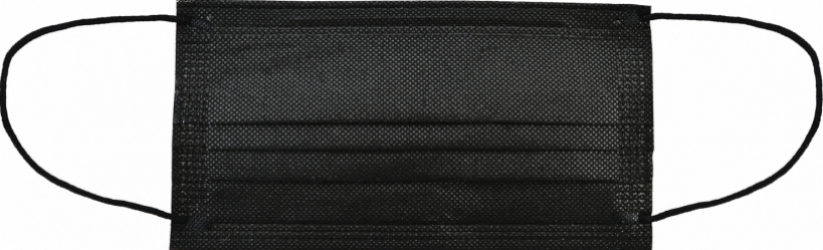 Set 400 Masca neagra cu filtru de carbon activ 3 straturi Polipropilena Masti chirurgicale si reutilizabile