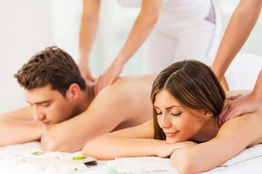 Voucher Cadou Masaj Relaxare pentru Cupluri + Aromatherapy - 60 MIN Cadouri