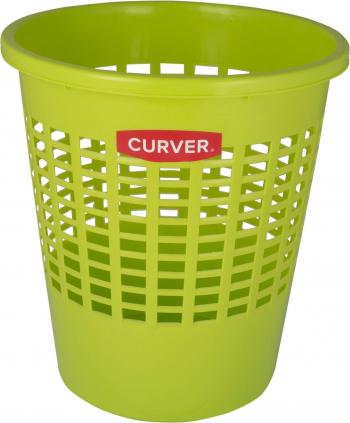 Cos de gunoi Curver 10 L 27x30 cm Dxh plastic Verde