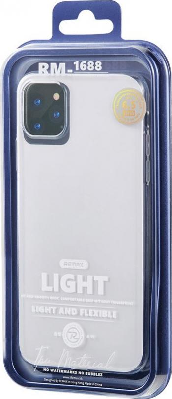 Husa de protectie Remax Light Case iPhone 11 Pro Max Transparent Huse Telefoane