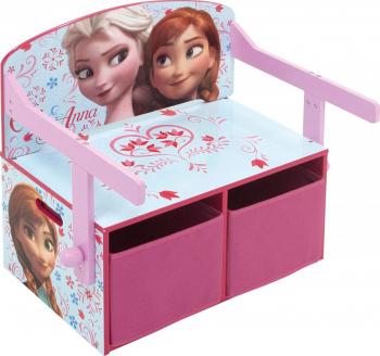 Mobilier 2 in 1 pentru depozitare jucarii Frozen Accesorii camera copil