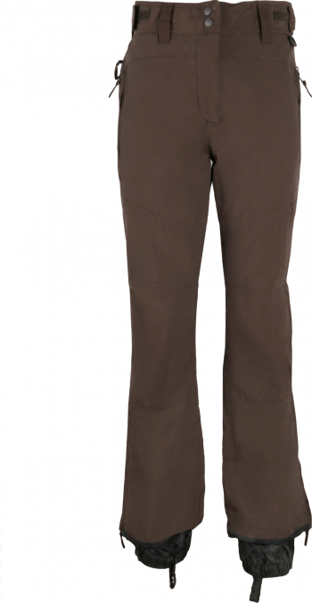 destul de frumos oferta specifica calitate fiabilă Pantaloni ski dama Crivit Sports impermeabili rezistenti la vant puternic  Maro 780939