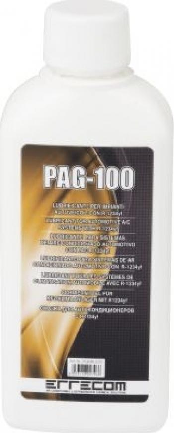 Ulei refrigerant PAG 100 250 ml sistem aer conditionat auto R1234yf Errecom Alarme auto si Senzori de parcare