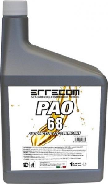 Ulei sistem climatizare de aer conditionat PAO 68 fara solutie de contrast Errecom 1 litru Alarme auto si Senzori de parcare