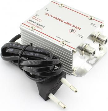 Amplificator semnal TV 2 iesiri 110802
