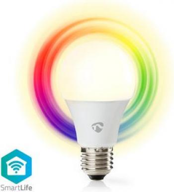 Bec LED Smart WiFi RGB - lumina alba calda E27 Nedis Corpuri de iluminat