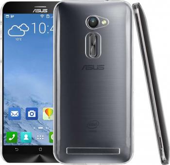 Carcasa Husa de protectie Asus ZenFone 2 ZE500CL Slim 0.6MM Protectie A+ Transparenta Huse Telefoane