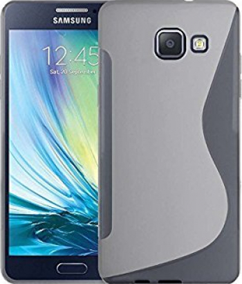 Carcasa Husa de protectie Samsung Galaxy A5 A510 2016 S-line Frost White Huse Telefoane