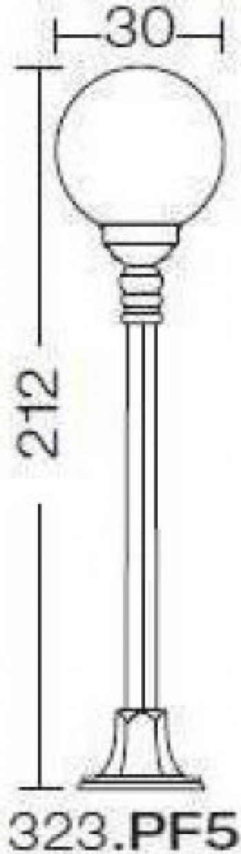 EXTERIOR AMALFI MAXI 323.PF5 Corpuri de iluminat