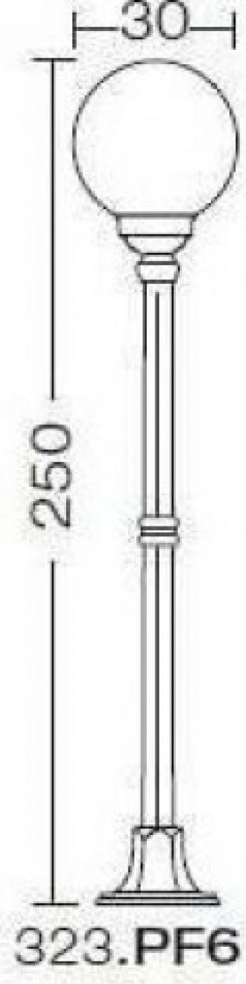 EXTERIOR AMALFI MAXI 323.PF6 Corpuri de iluminat