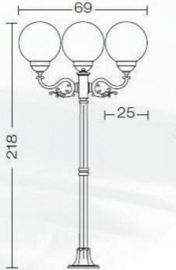 EXTERIOR AMALFI MINI 320.PF5T3 Corpuri de iluminat