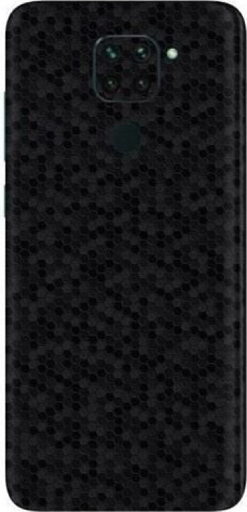Folie Skin Pentru Xiaomi Redmi Note 9 - ApcGsm Wraps HoneyComb Black Folii Protectie