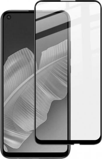 Folie sticla securizata Huawei P40 Lite E 3D Negru FULL SCREEN Full Glue Tempered Glass Antisoc Viceversa
