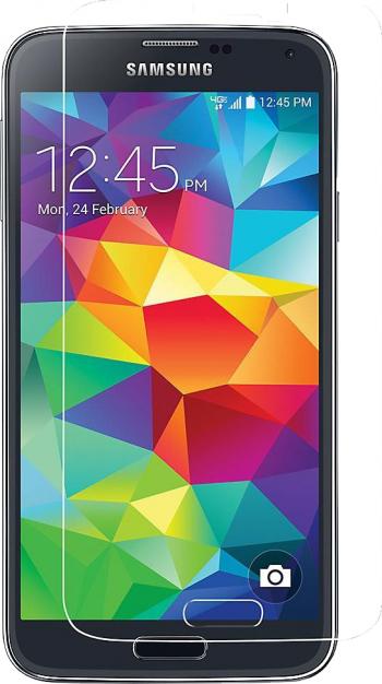 Folie sticla securizata Samsung Galaxy S5 - Tempered Glass + CADOU Folii Protectie