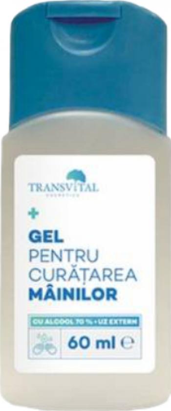 Gel Dezinfectant Antibacterian Transivtal cu 70 Alcool 60ml Gel antibacterian