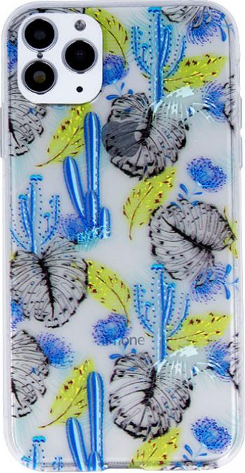 Husa Apple iPhone 11 Pro model Blue Cactus Silicon TPU Viceversa Huse Telefoane
