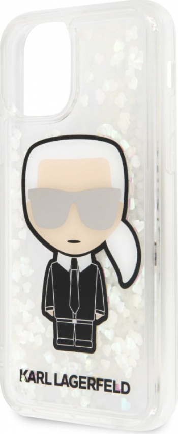 Husa Cover Karl Lagerfeld Glitter Iridescente pentru iPhone 11 Pro Clear Huse Telefoane