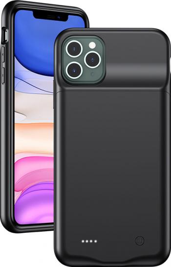 Husa Cu Baterie iPhone 11 Pro Usams 3500mAh Negru Huse Telefoane