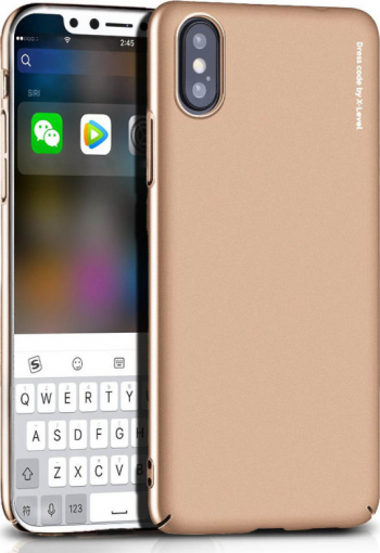 Husa iPhone XS Max 6.5 Knight Series Aurie X-Level Huse Telefoane