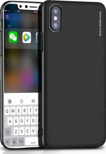 Husa iPhone XS Max Knight Series Neagra X-Level Huse Telefoane