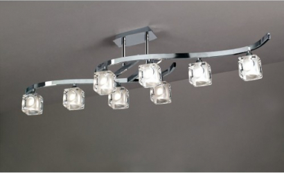 LUSTRA CUADRAX CRISTAL 0951 Corpuri de iluminat
