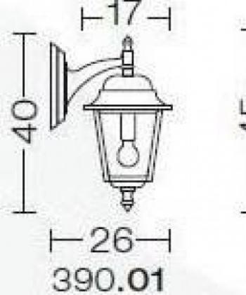 Nizza 390.01 Corpuri de iluminat