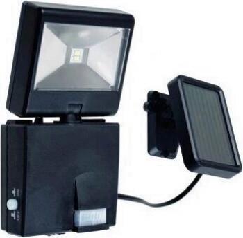 Proiector cu led panou solar si senzor de miscare Home 6916 H putere 1W IP44 Corpuri de iluminat