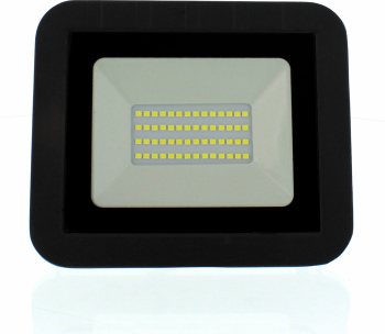 Proiector LED 30W 2400lm IP65 4000K negru Well Corpuri de iluminat