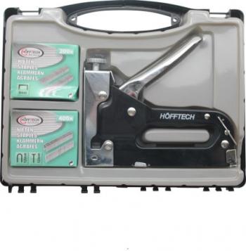 Set capsator profesional Hofftech metalic 8-12 mm 600 capse