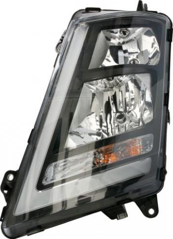 Far stanga H1/H7/LED/PY21W electric fundal negru VOLVO FH II dupa 2012 Sistem iluminat
