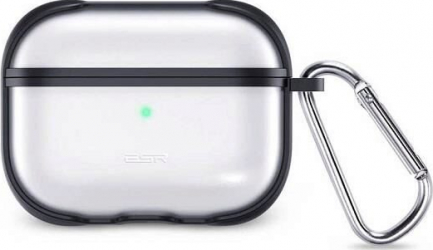 Husa Silicon AirPods Pro - ESR Hybrid Black