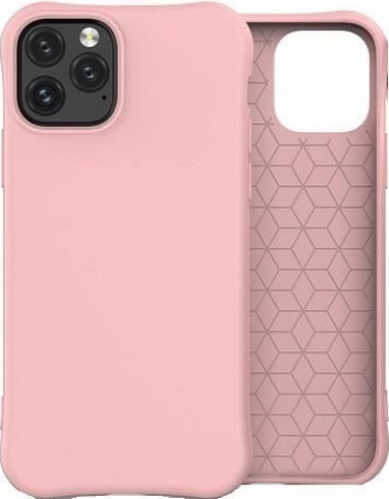 Husa Silicon Apple iPhone 11 Pro - iberry Color Soft Roz Huse Telefoane