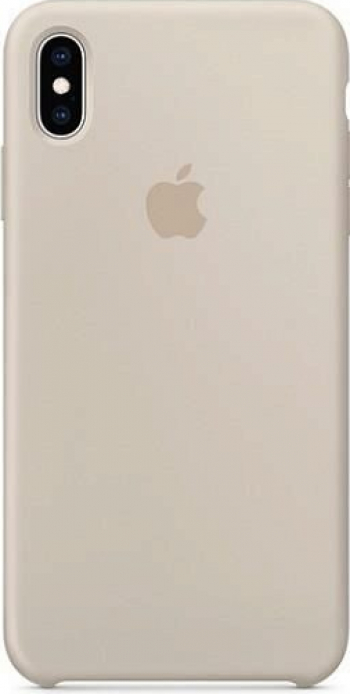 Husa Silicon Apple iPhone XS Max - Apple Case MRWJ2ZM/A Stone