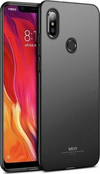 Husa Xiaomi Mi 8 - MSVII Ultraslim Neagra Huse Telefoane