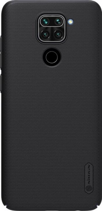 Husa Xiaomi Redmi Note 9  Redmi 10X 4G + Stand Telefon Nillkin Super Frosted Negru Huse Telefoane