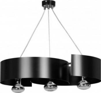 LUSTRA VIXON 3 BLACK Corpuri de iluminat