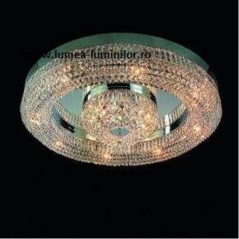PLAFONIERA SATURN ORION D120 crom Corpuri de iluminat