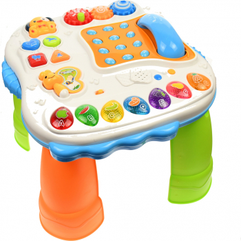 Masa interactiva pentru bebelusi jucarie inteligenta cu functii multiple sunete si lumini - SY82