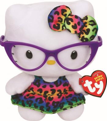Plus Ty 15cm Beanie Babies Hello Kitty Fashionista Jucarii