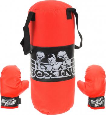 Set sac de box si manusi 50 cm pentru copii - 32142