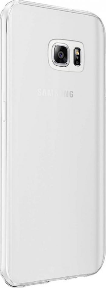 Carcasa Husa silicon Samsung Galaxy S6 Edge Protectie A+ Transparenta