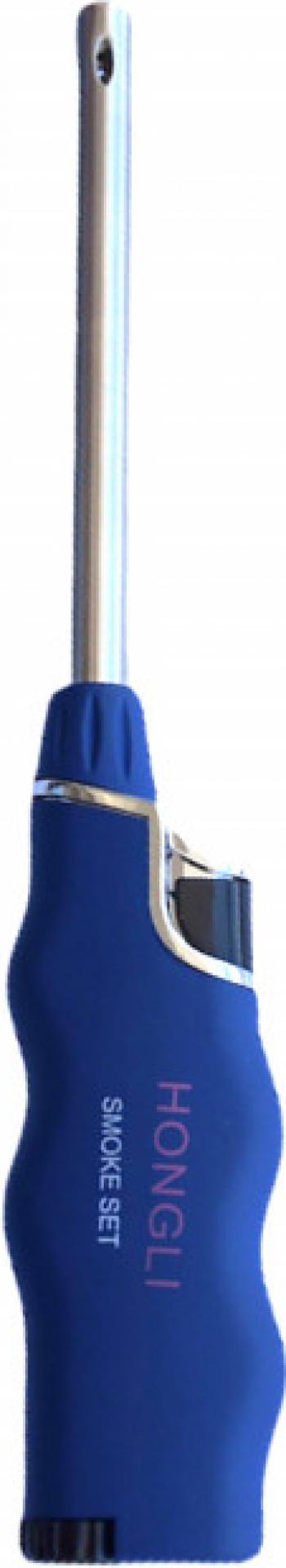 Aprinzator reglabil si reincarcabil pentru aragaz tip bricheta albastru Accesorii bucatarie