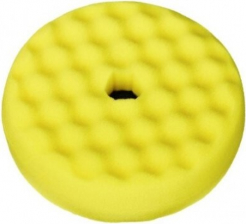 Burete polis galben cu fata dubla Quick Connect 216 mm 3M Cosmetica si Detergenti Auto