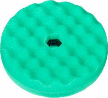 Burete polis verde valurit cu fata dubla Quick Connect 150mm 3M Cosmetica si Detergenti Auto