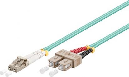 Cablu profesional Optic cu fibra LC-duplex - SC-duplex 5m Accesorii diverse pentru TV-uri