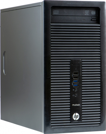 Calculator Refurbished HP ProDesk 400 G2 Tower Intel Core i3-4160 4GB DDR3 500GB HDD Calculatoare Refurbished