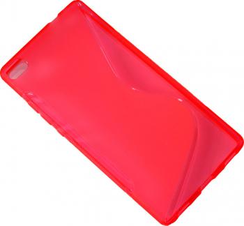 Carcasa Husa de protectie Huawei P8 S-line Pink Roz